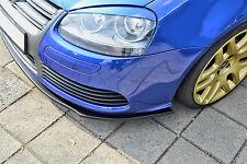 Sonderaktion Spoilerschwert Frontspoilerlippe Cuplippe aus ABS für VW Golf 5 R32