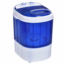 Small Mini Portable Compact Washer Washing Machine 6.6lbs Capacity Blue