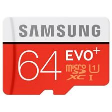 New Samsung EVO Plus 64GB 64G UHS-I Micro SDHC SDXC SD Flash TF Card MB-MC64G