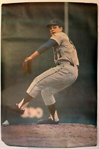 Original 1968 Tom Seaver Mets  Lithograph Poster 24x36 by Malcolm Emmons