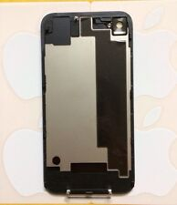 New Original Authenic iPhone 4S Back Housing Glass Rear Battery Door A1387 BLACK