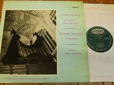 ZRG 5339 Franck / Messiaen Organ Works / Preston GROOVED OVAL