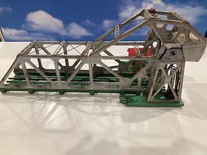 Vintage 1940s Post War Lionel Trains O/O-27 Gauge Operating Bascule Bridge 313