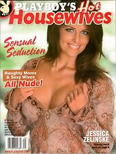 PLAYBOY's Hot Housewives Jessica Zelinske NAUGHTY MOMS & SEXY WIVES October 2011