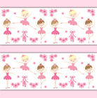 Ballerina Wallpaper Border Wall Art Decal Baby Girl Ballet Dance Nursery Sticker