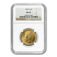 $10 Indian Gold Eagle - Random Year - MS-63 NGC - SKU #23201