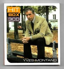 COFFRET 3 CD / YVES MONTAND - HIT BOX 3 CD / 45 TITRES COMPILATION 2011