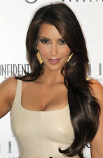 Kim Kardashian With The Hair On The Shoulder 8x10 Picture Celebrity Print
