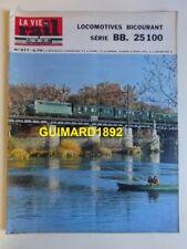 La Vie du Rail n°977 3 janvier 1964 locomotives bicourant série BB 25100