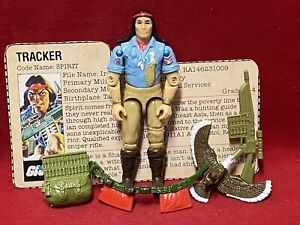 1984 Vintage Gi Joe.................SPIRIT 100% Complete—-Very Nice!!!!