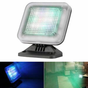 Fake TV Light Home Security Anti-Burglar Theft Deterrent LED Dummy Sensor Light