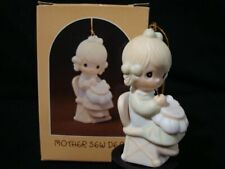 Precious Moments Ornaments-Mother Sew Dear-Needlepoint