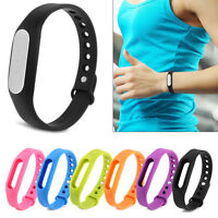 Silicone Wrist Strap Fitness Band with Clasp For Xiaomi Mi Band Miband 2 Tracker