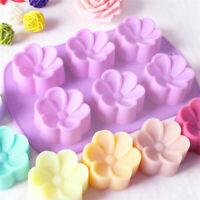 Flower Petal Fondant Silicone Mould Icing Cake Decor Chocolate Sugar Baking Mold