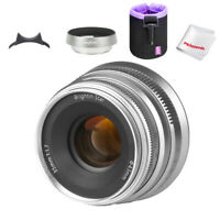 Brightin Star 35mm F1.7 APS-C Large Aperture Prime Manual Lens for Fuji X-Mount