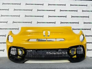 FIAT 500 ABARTH 595 FACE LIFTING 2016-2020 FRONT BUMPER IN YELLOW GENUINE [F800]