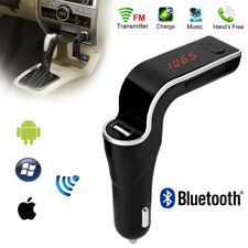 Car G7 Bluetooth FM Transmitter4 in 1 Wireless Hands Free Modulator MP3 LCD CA