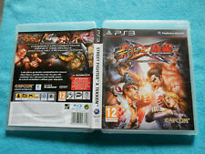 STREET FIGHTER X TEKKEN - COMPLET - PlayStation PS3 - FR - Comme Neuf !