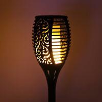 Solar Flame Flickering Garden 96 LED Light Ip65 Outdoor Solar Decoration Lamp