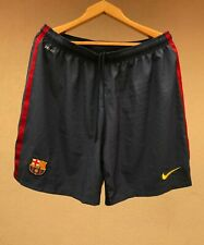 FC BARCELONA SPAIN 2012/2013 HOME FOOTBALL SOCCER SHORTS CAMISETA NIKE BLUE