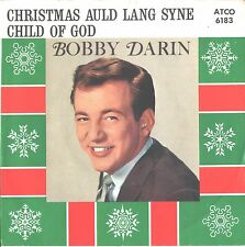 BOBBY DARIN--PICTURE SLEEVE + 45--(CHILD OF GOD)---PS--PIC--SLV