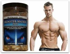 2x massa muscolare Matrix x Stack Pillole Bodybuilding Crescita Six Pack Tablet ABS POMPA