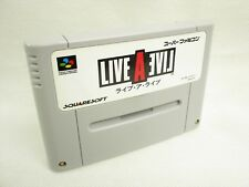 Live A Live GOOD Condition Super Famicom Cartridge Only sfc