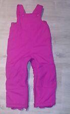 PLC The Children's Place Size 3T Pink 3 Piece Snow Suit Winter Jacket and Fleece