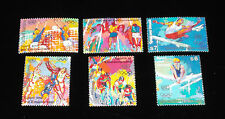 U.N.1996 SPORT AND THE ENVIROMENT, SINGLES, MNH, ALL 3 OFFICES NICE!! LQQK!!!
