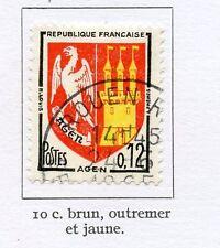 STAMP / TIMBRE FRANCE OBLITERE N° 1353 BLASON AGEN