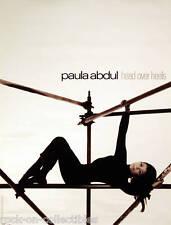 Paula Abdul 1995 Head Over Heals Original Promo Poster