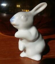 Easter Bunny Rabbit Cake Topper Porcelain Bisque Vintage Japanese 1950s