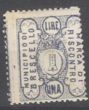 Italy local revenue Brescello MH marca da bollo timbre fiscal