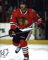 Steve Montador signed NHL hockey 8x10 photo W/Cert Autographed A0003