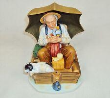 "Norman Rockwell Figurine ""Fishing"" ~ Saturday Evening Post 7/19/30 ~ #150107-01"