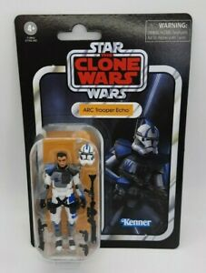 STAR WARS ARC TROOPER ECHO VINTAGE COLLECTION VC176 FIGURE CLONE WARS NEW RARE