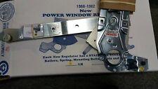 68-82 Corvette C3 Power Window Regulator Driver Side NEW Left Stainless Gear