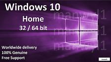 Windows 10 Home 32 / 64 bit Product Activation License Key Scrap PC
