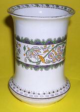 Vintage Middleport Pottery Burleigh Ware - Floral Pattern Vase With Gilding.