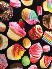 Fabric Cupcakes, Cake, Sweets 5898, sold by the yard