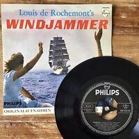 Louis De Rochemont's ~ Windjammer (Philips 429 458 BE) 1958 German Vinyl Import