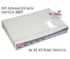 HP advancestack switch 800t j3245a 4x rj-45 100 Mbit/s rs-232 + 4x j3192a-b273