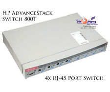 HP advancestack switch 800t j3245a 4x rj-45 100 Mbit/s rs-232 + 4x j3192a-b273