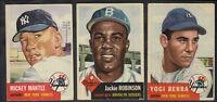 1953 TOPPS BASEBALL CARD STARTER SET 153/274
