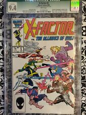X-Factor #5 (Jun 1986, Marvel) cgc 9.4 1st appearance of Apocalypse