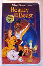 Beauty and the Beast (1992) VHS Black Diamond Walt Disney Classic FACTORY SEALED