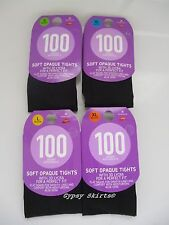 NEW 100 DENIER SOFT OPAQUE TIGHTS WITH 3D LYCRA FOR A PERFECT FIT WITH ALOE VERA