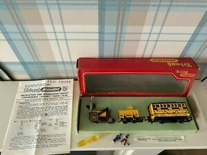 hornby triang r346 stephensons rocket train working smoke pipe excellent boxed