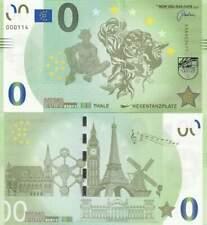Biljet billet zero 0 Euro Memo - Thale Hexentanzplatz (024)