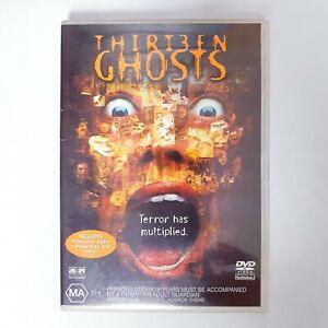 Thirteen Ghosts Movie DVD Region 4 Free Postage - Horror Thriller